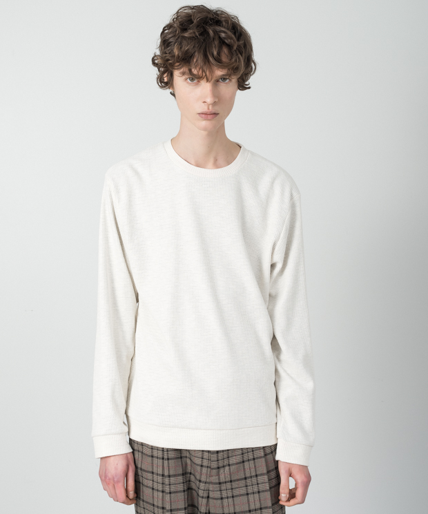Double Cloth Pullover - IVORY