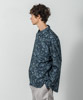 Broad Paisley Dropped Shoulders Shirt - NAVY
