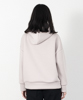 Cardboard Knit Pull Over Hoodie - LIGHT GRAY