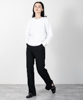 T/R Stretch Slacks - BLACK
