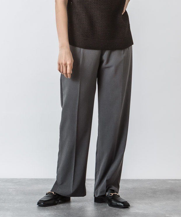 T/R Stretch Slacks - GRAY