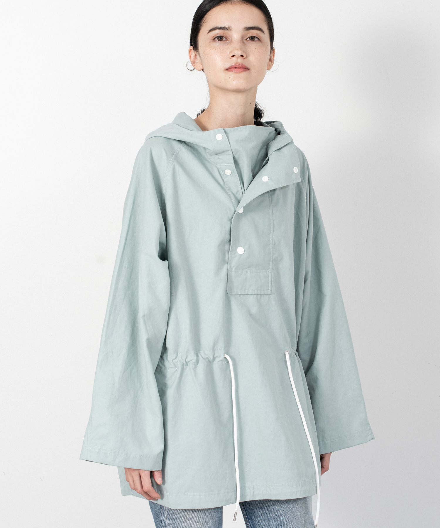 N/C Weather Pullover Hoodie - MINT