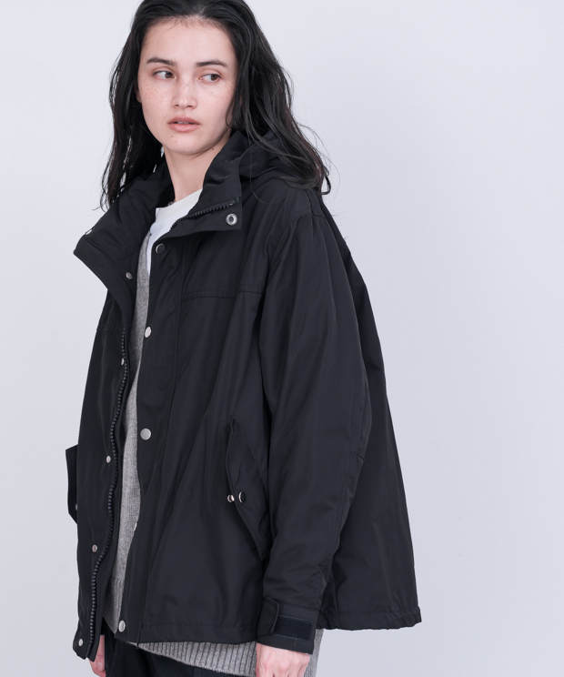 【予約商品】Tent Silhouette Mountain Parka - BLACK