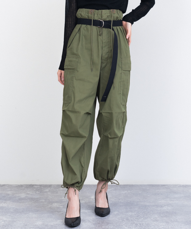 Volume Cargo Pants - KHAKI