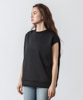 Cardboard Knit Sleeveless Top - BLACK