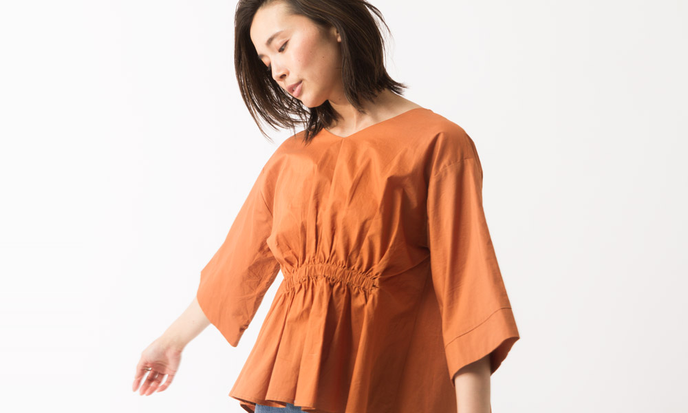 Gathered Blouse for women SS 2017