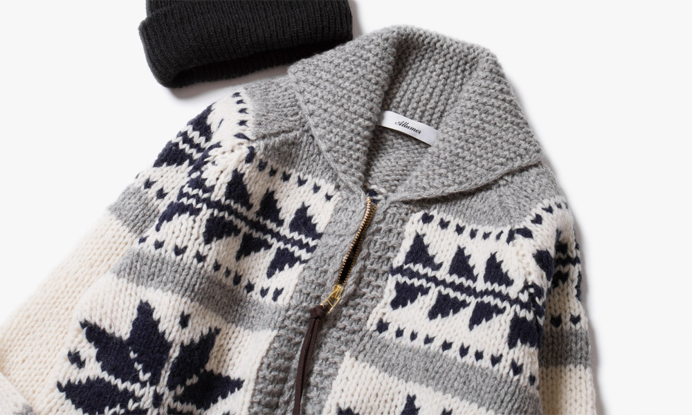 TO KEEP YOU WARM(SHETLAND WOOL COWICHAN)AW 2016