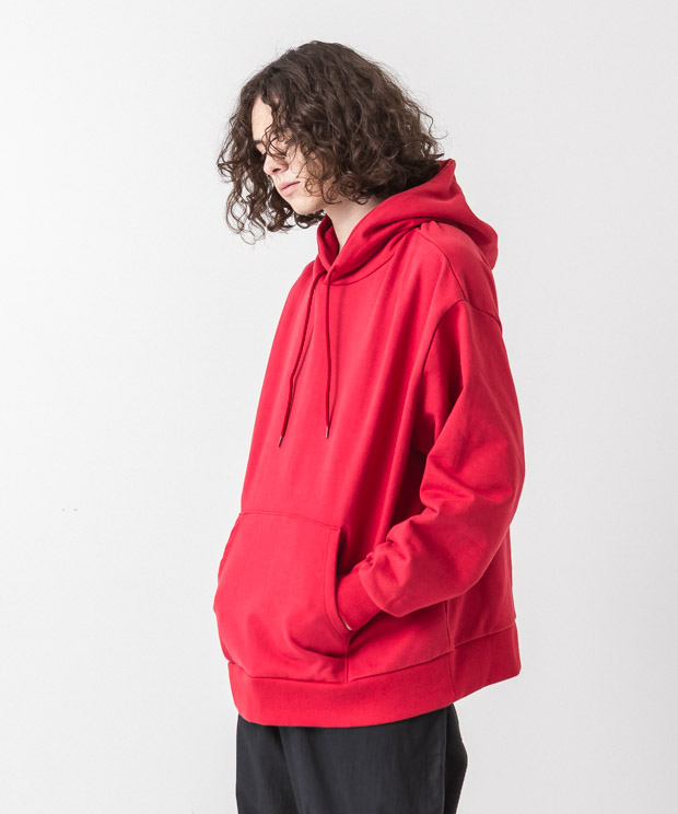 Oversized Sweat Hoodie - RED