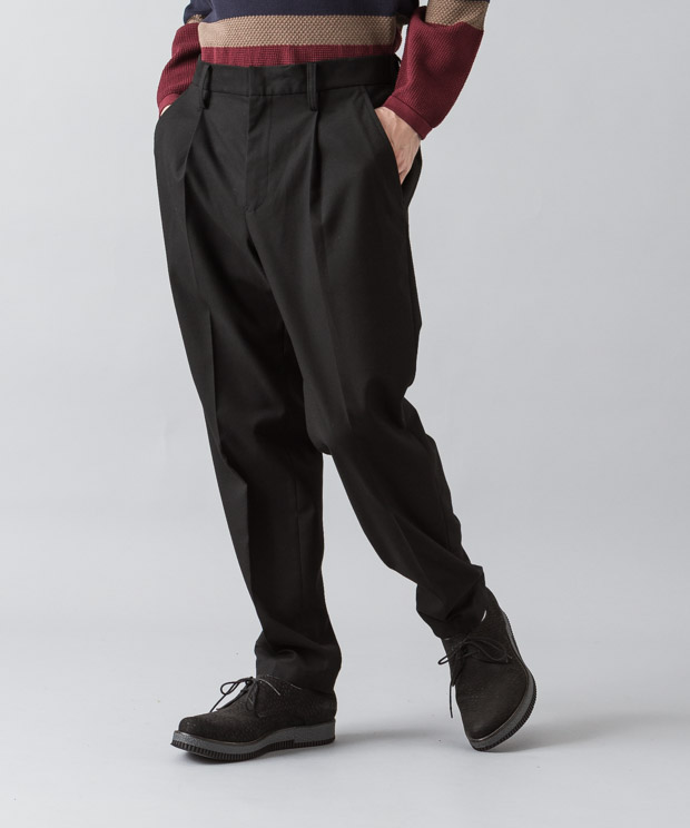 Thermolite Tr Twill Tucked Pants - BLACK