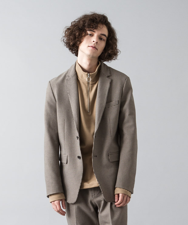 Topthermo Tr Twill Tailored Jacket - GUNCLUB CHECK