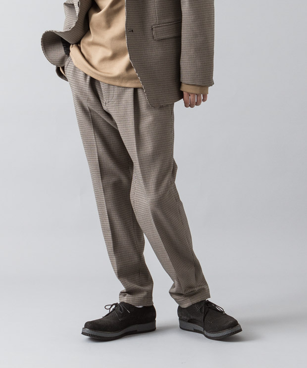 Topthermo Tr Twill Tucked Pants - GUNCLUB CHECK