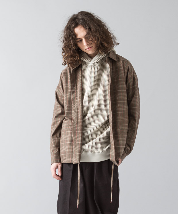 [予約商品]Typewriter Check Jacket - GLENCHECK