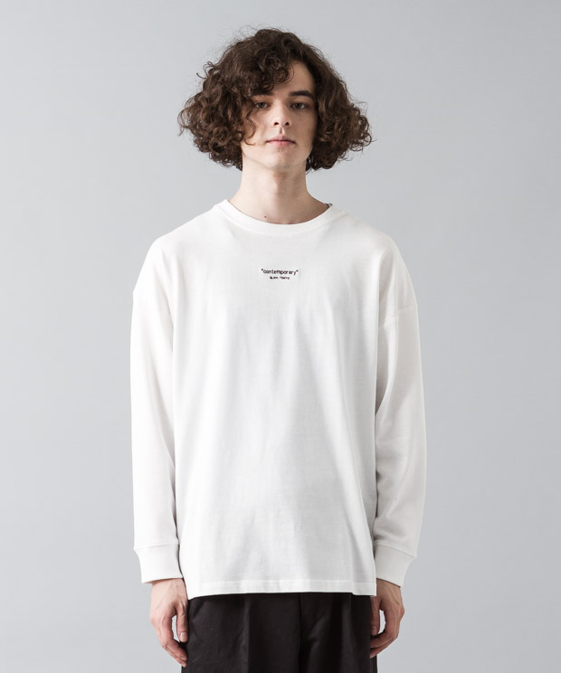 [予約商品]Dropped Shoulders T-Shirt (Contemporary) - WHITE