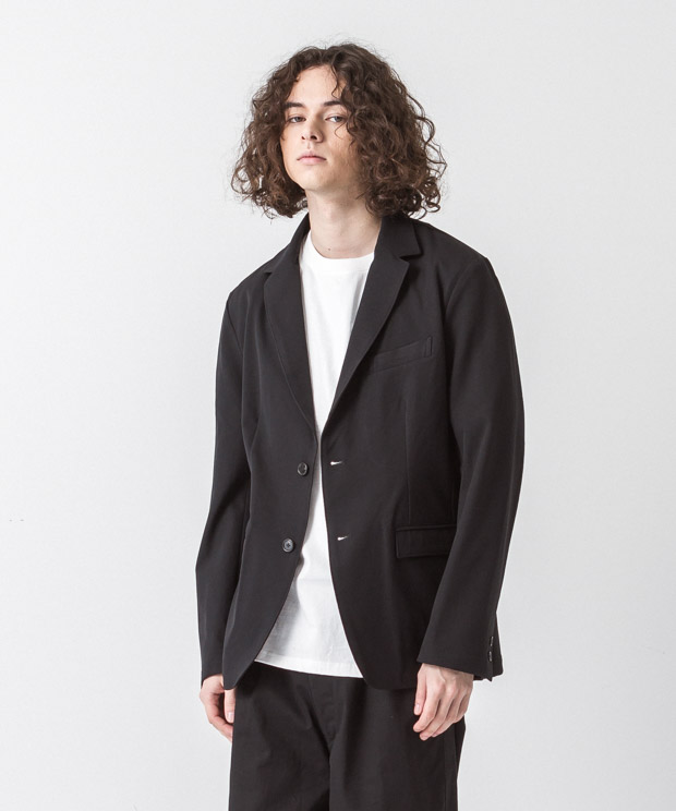 Primeflex Stretch Twill Tailored Jacket - BLACK