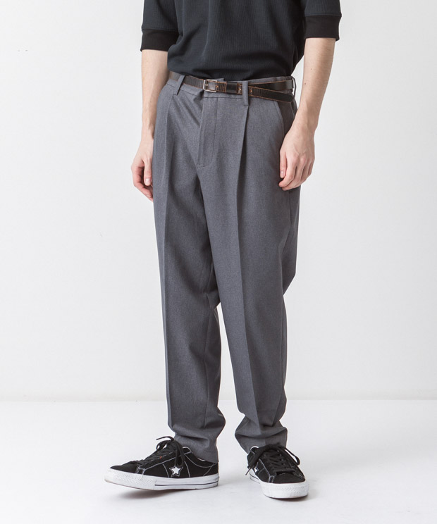 Primeflex Stretch Twill Slim Slacks - GRAY