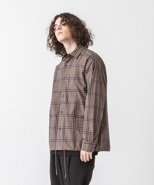 Typewriter Jacket - GLEN CHECK