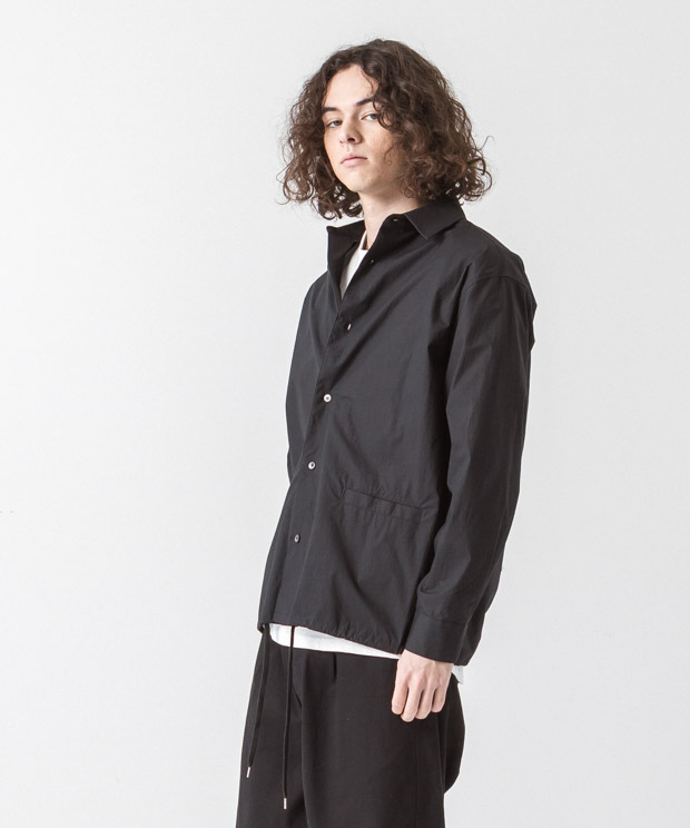 Typewriter Jacket - BLACK