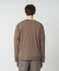 Double Cloth Crewneck Pullover - MOCHA