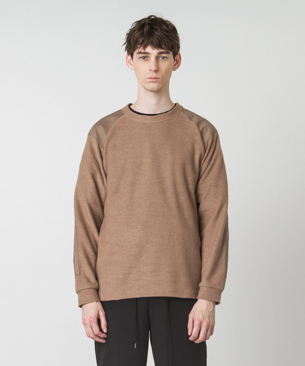 T/R Fleece Military Knit - MOCHA