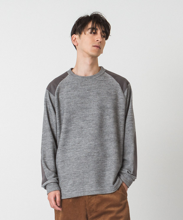 T/R Fleece Military Knit - GRAY