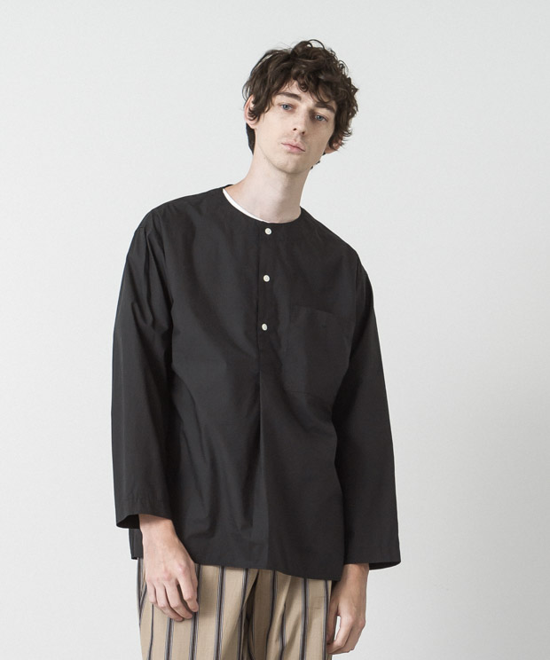 Typewriter Sleeping Shirt - BLACK