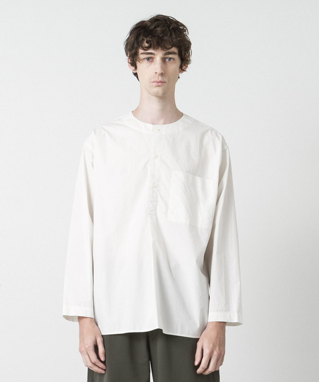 Typewriter Sleeping Shirt - IVORY