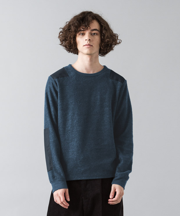 Tr Fleece Military Knit - NAVY