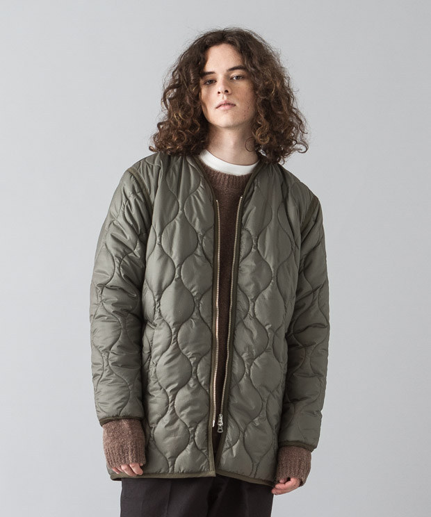 Ripstop Quilting Liner Jacket - KHAKI