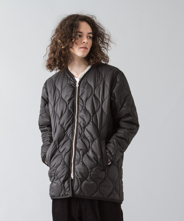 Ripstop Quilting Liner Jacket - BLACK