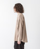 T/R Stretch Twill Dropped Shoulders Shirt - BEIGE