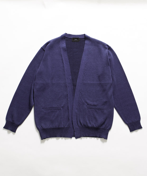 Camifine Buttonless Cardigan - NAVY