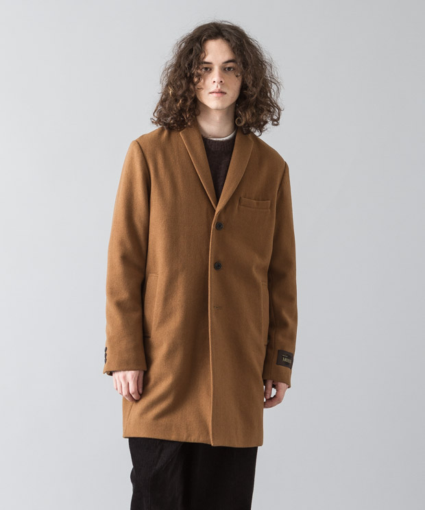 Nobilia Melton Chesterfield Coat  - CAMEL