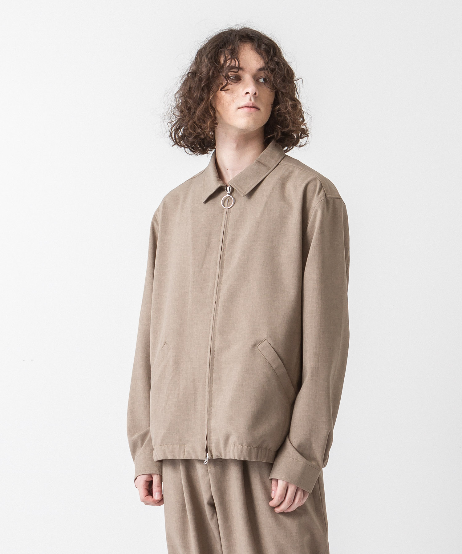 Tropical Drizzler Jacket - BEIGE