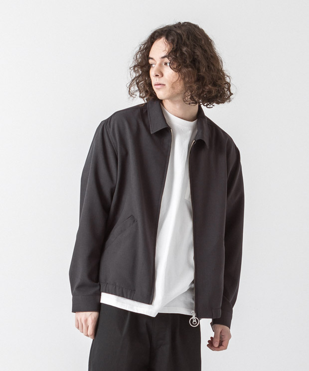 Tropical Drizzler Jacket - CHARCOAL