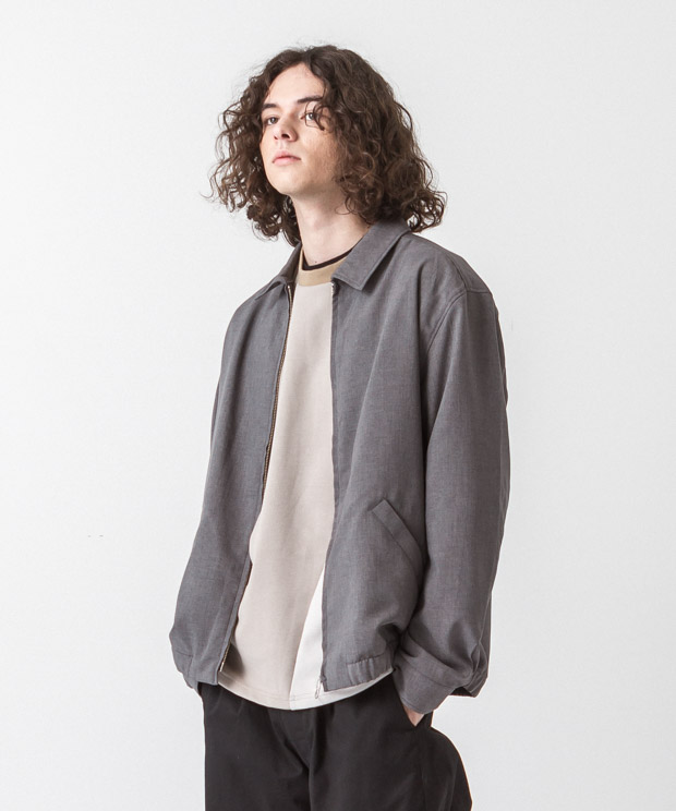 Tropical Drizzler Jacket - GRAY