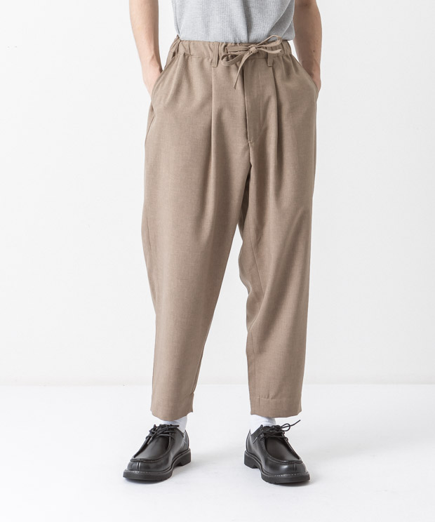 Tropical Easy Pants - BEIGE