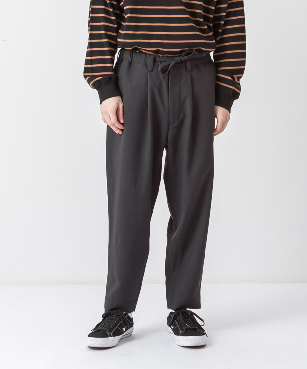Tropical Easy Pants - CHARCOAL