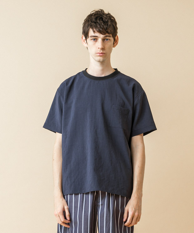 Thick&Thin T-Shirt - NAVY