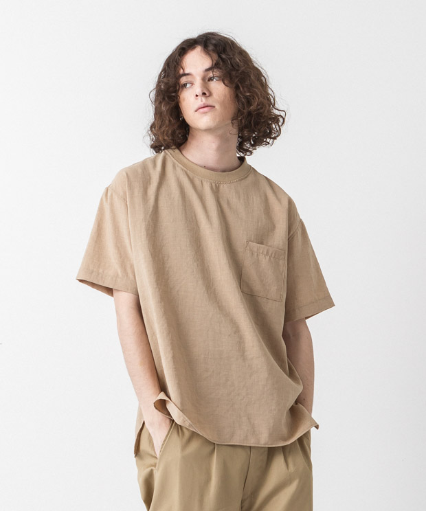 Thick&Thin T-Shirt - BEIGE