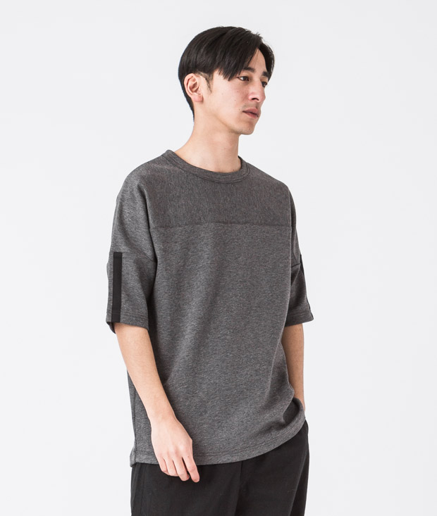 Tc Ponte Wide Foot Ball Tee - CHARCOAL