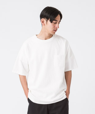 MVS Drop Shoulder Tee - WHITE