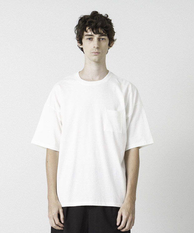 Dropped Shoulders T-Shirt - WHITE