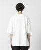 Dropped Shoulders Printed T-Shirt ( Less Is More ) - WHITE