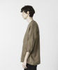 Linen Buttonless Shirt Cardigan - SAX