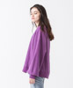 Vintage Sweat Volume Sleeves Crewneck - PURPLE