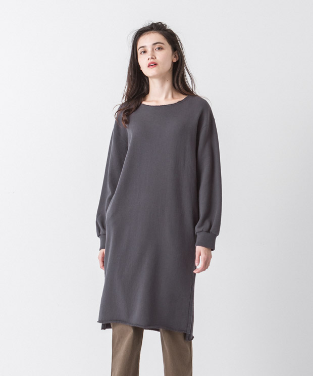 Sweat Dress - CHARCOAL
