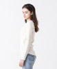 Waffle Henley-Neck Pullover - IVORY