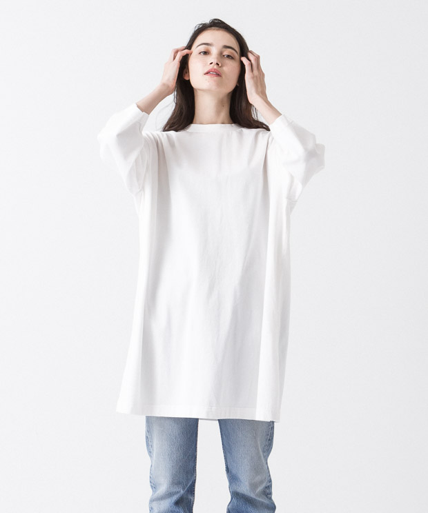 Oversized Dress - WHITE