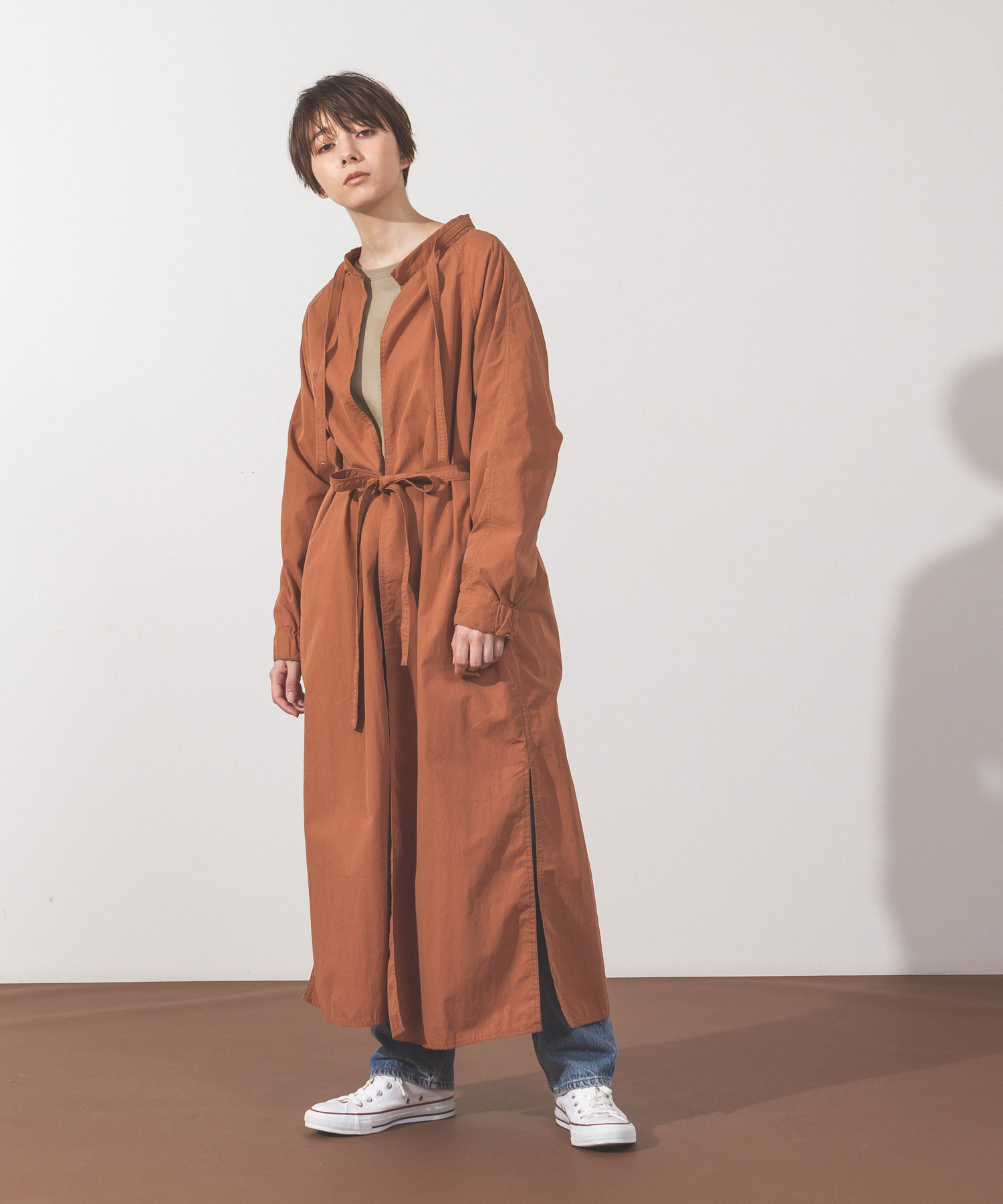 Military Aidman Gown - TERRACOTTA