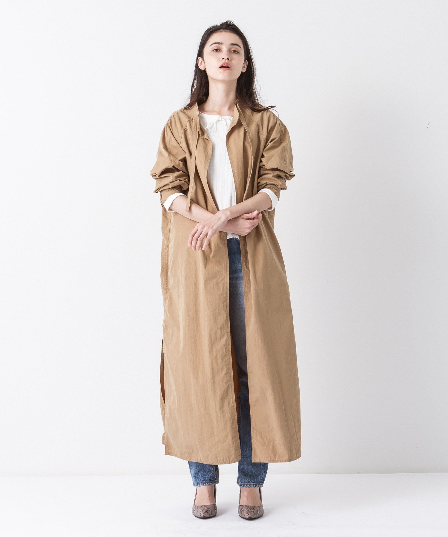 Military Aidman Gown - BEIGE